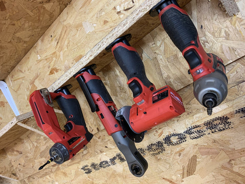 Tool Mounts for Milwaukee M12 - 3 x pack (StealthMounts)
