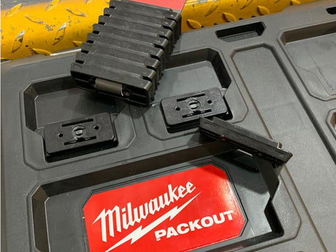 'Foot' for Milwaukee Packout ('Packout Foot') - 8 x pack (StealthMounts)