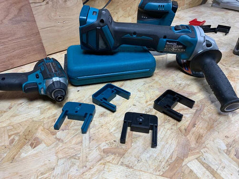 Tool Mounts for Makita LXT 18v - 4 x pack (StealthMounts)