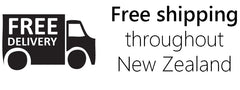 Free Shipping on orders throughout NZ