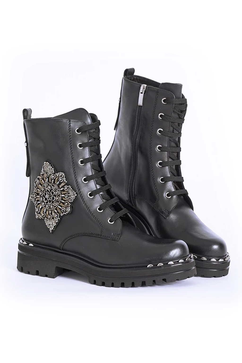 AZTEC LACE UP BOOT