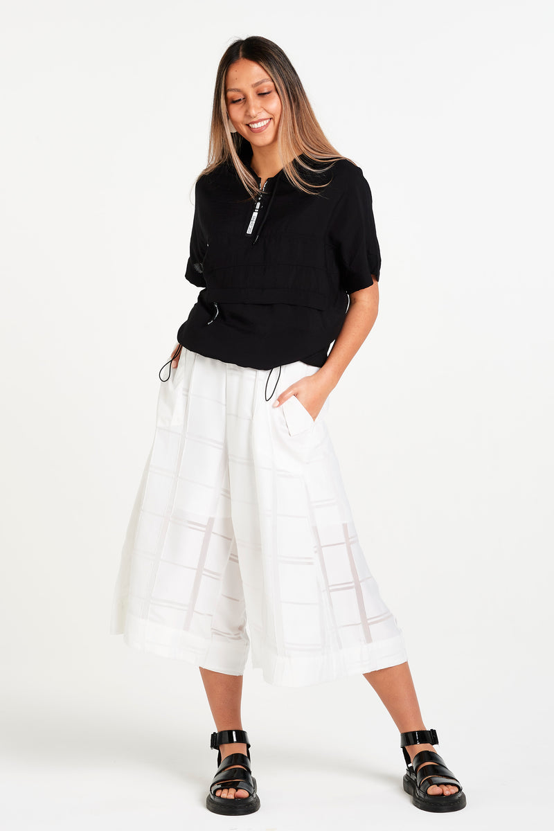 PLAID OF HONOUR PANT