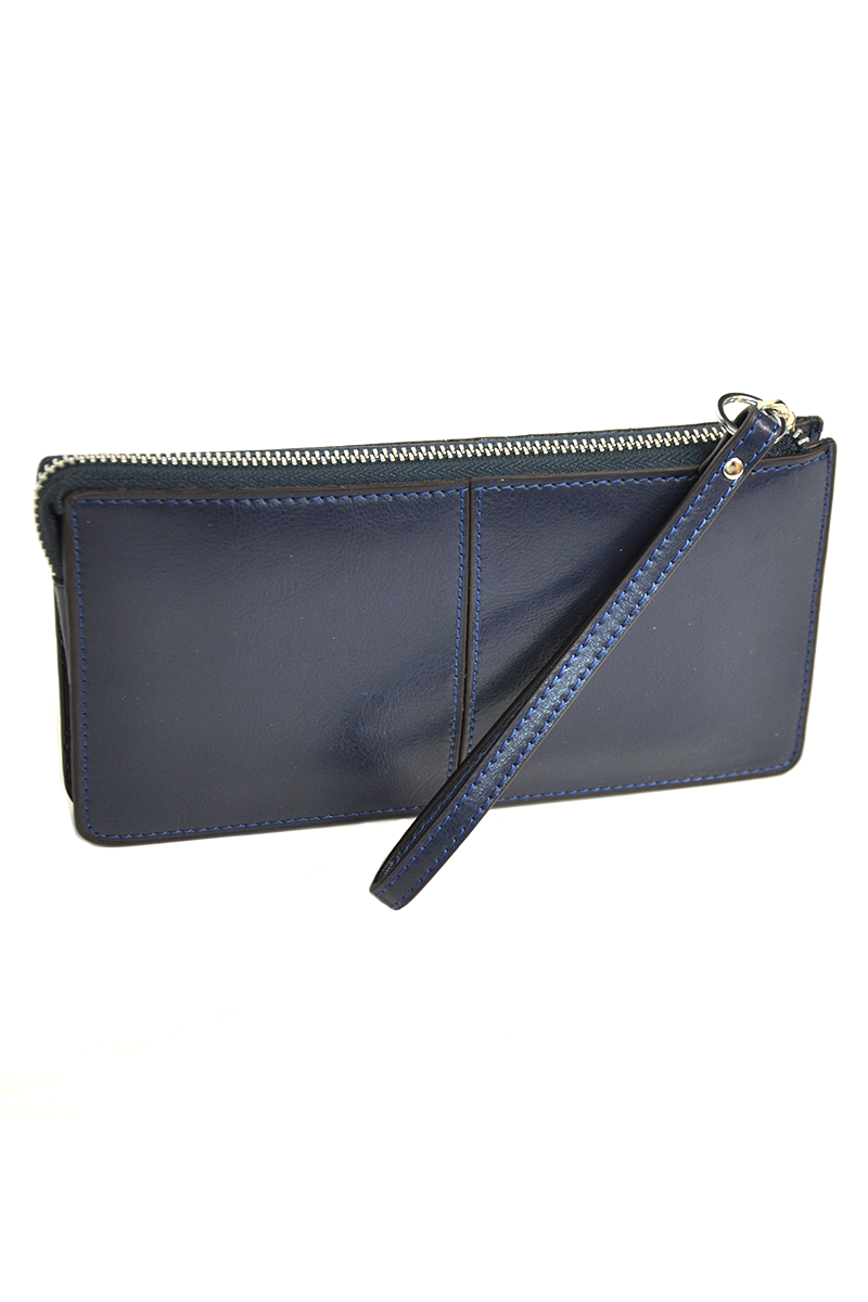 LILLY LERELL LEATHER CLUTCH