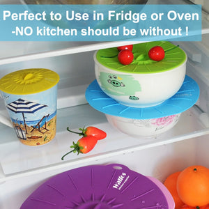 EASY / FOOD SAFE SILICONE LIDS