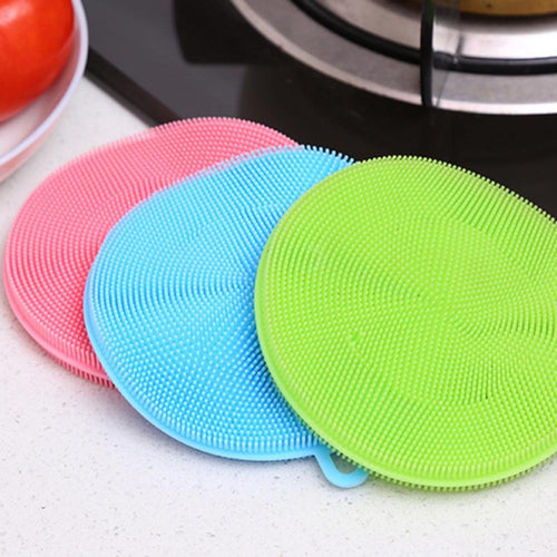 Antibacterial Silicone Scrubber