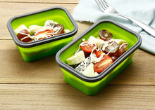 Load image into Gallery viewer, Stylish Bento Portable containers 4Pcs/set