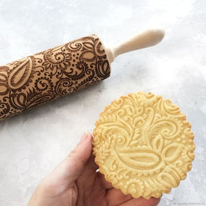 Rolling Pin / Engraved Embossed
