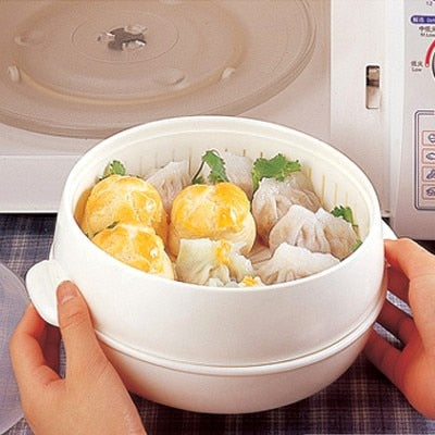 Healthy White Portable Steamer