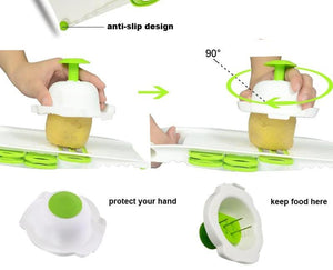 Safety Mandoline Peeler