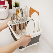 Load image into Gallery viewer, Folding Dish Rack