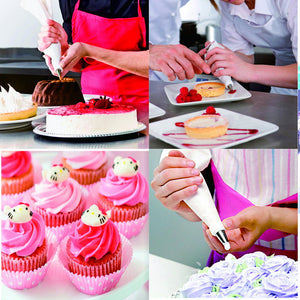 Silicone Icing Piping Pastry Bag