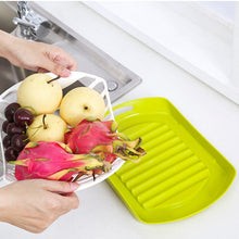 Load image into Gallery viewer, Shelf Dish Drainer Organizer