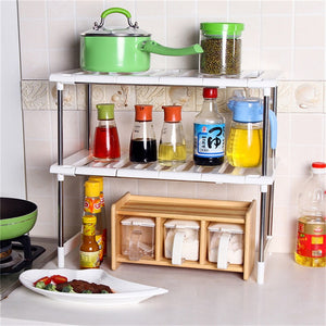 Stainless Steel Kitchen Shelf Organizer