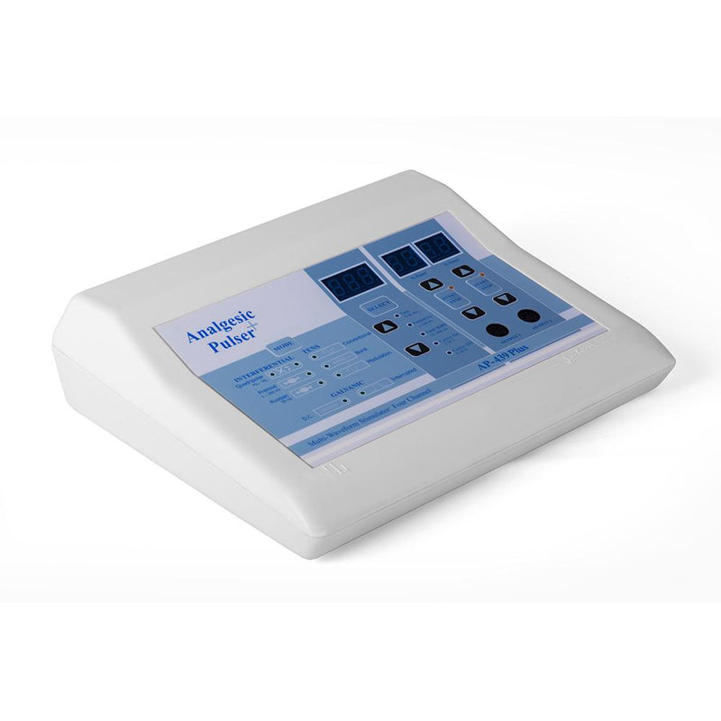 AP 439- Anagesic Pulse Plus Multi Waveform Interferential, TENS & Galvanic - Ultrasound therapy machine