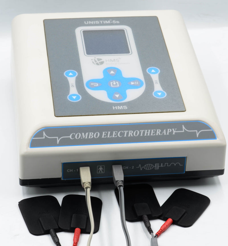 UNISTIM® - 5S -  Premium Combo Electrotherapy Equipment - Ultrasound therapy machine