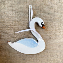 Load image into Gallery viewer, Swan Ornament