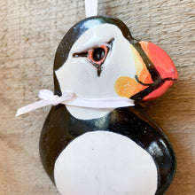 Load image into Gallery viewer, Puffin Ornament