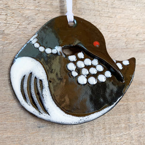 Loon Round Ornament