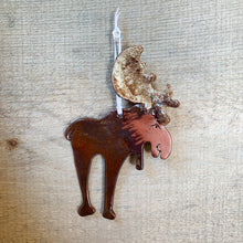 Load image into Gallery viewer, Moose Ornament