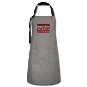 Artisan Apron - gray/black