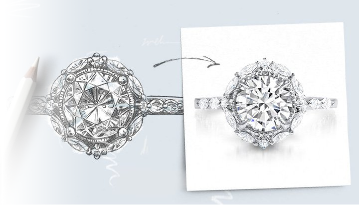 Design Her Dream Diamond Ring