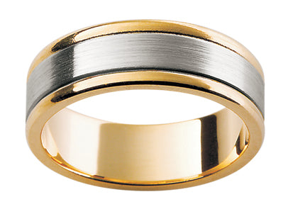 Gents Titanium/9ct Wedding Ring