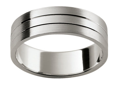 Gents Titanium/9ct Wedding Ring TBJF114