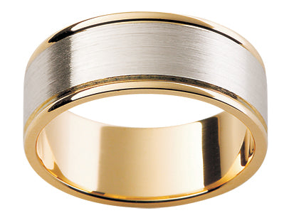 Gents Multi Tone Wedding Ring TBJF132