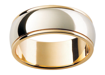 Gents Platinum Wedding Ring TBJF17