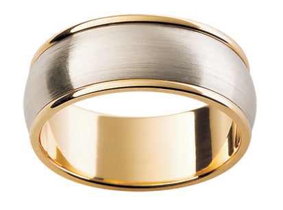 Gents Platinum Wedding Ring TBJF99