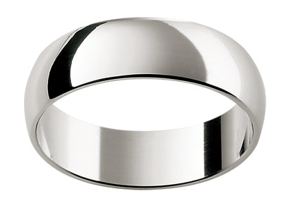 Gents Titanium Wedding Ring TBJHR