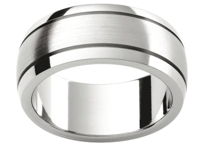 Gents Platinum Wedding Ring TBJP414