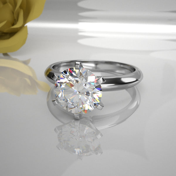 Ariel 0.50Ct Solitaire Diamond 001