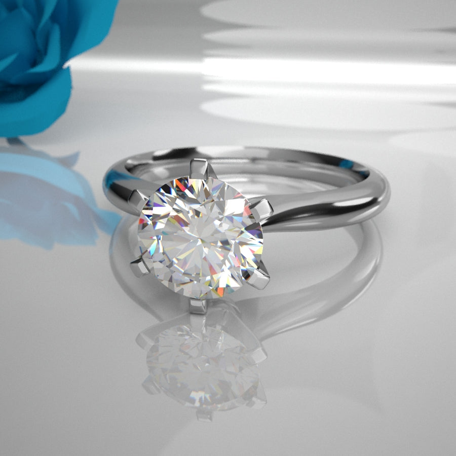 Aurora 0.50Ct Solitaire Diamond 002