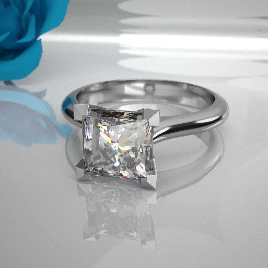 Belle 0.50Ct Princess Diamond  003