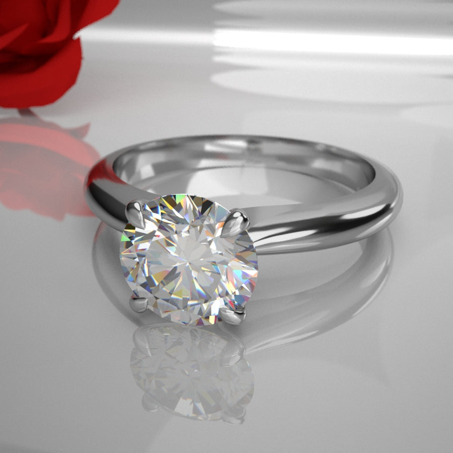 Destiny 0.50Ct Solitaire Diamond 008