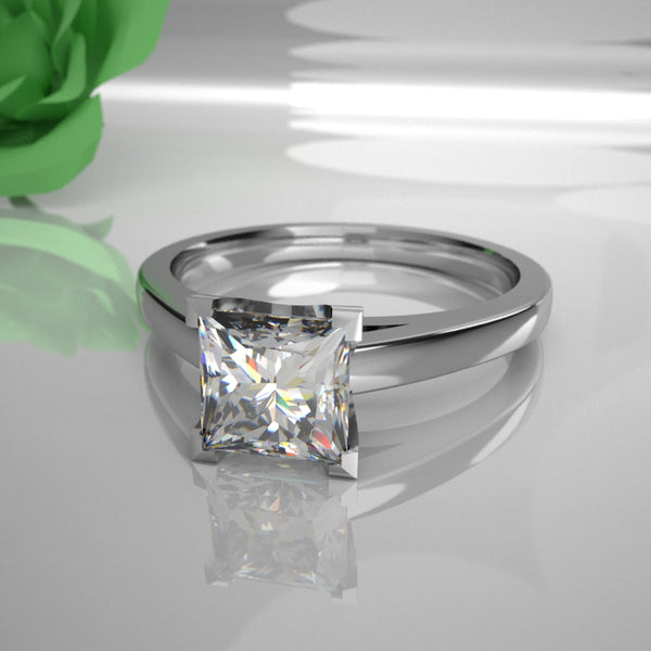 Hansa 0.50Ct Princess Diamond 012