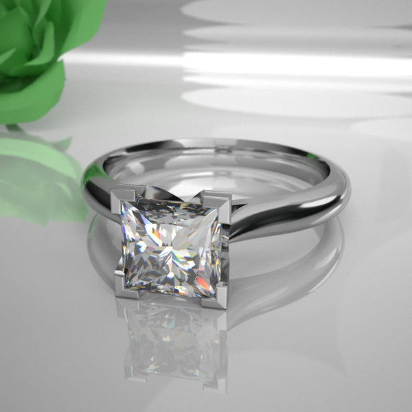 Kate 0.50Ct Princess Diamond 016