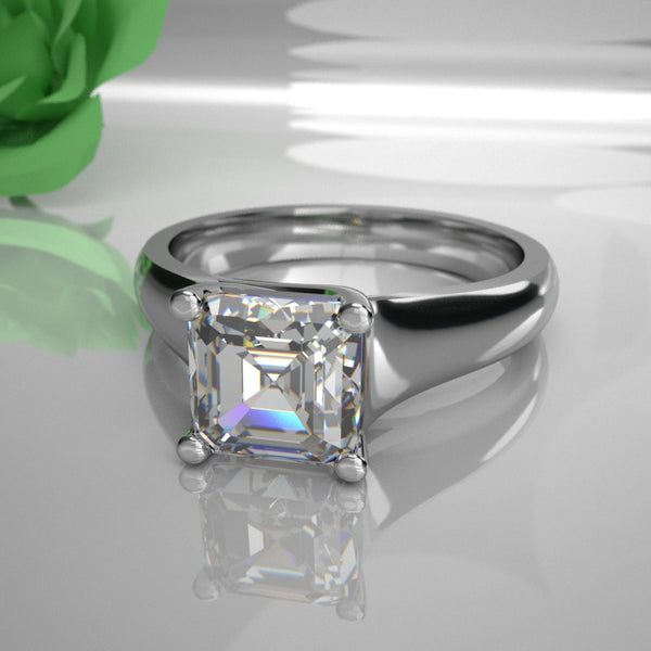 Leia 0.50Ct Princess Diamond 017