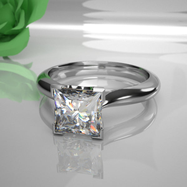 Xena 0.50ct Princess Diamond 030