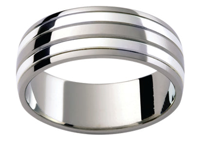 Gents Titanium Wedding Ring TBJTi11B