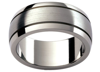 Gents Titanium Wedding Ring TBJTi26