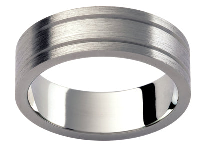 Gents Titanium Wedding Ring TBJTi29