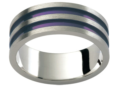 Gents Titanium Wedding Ring TBJTi3