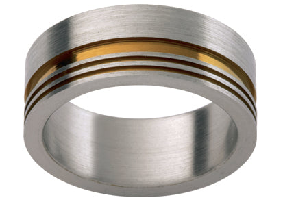 Gents Titanium Wedding Ring TBJTi36