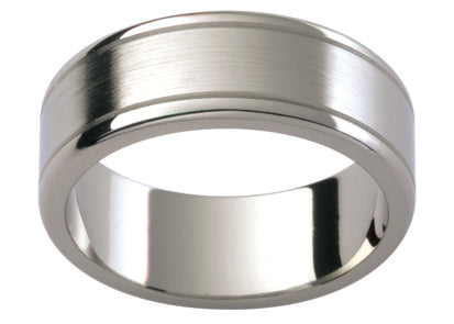 Gents Titanium Wedding Ring TBJTi51B