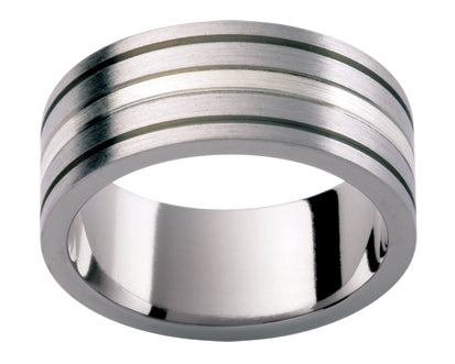Gents Titanium Wedding Ring TBJTi59M
