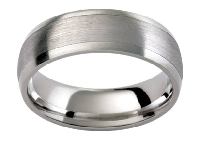 Gents Titanium Wedding Ring TBJTiJ10B
