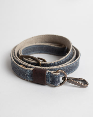 Canvas Dog Leash (Denim)