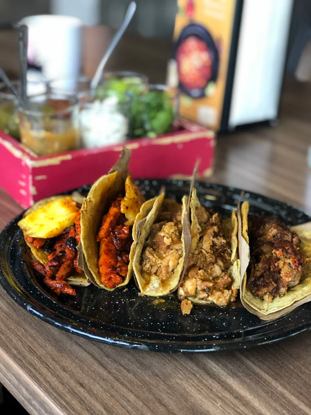 Tacos mexican candy box